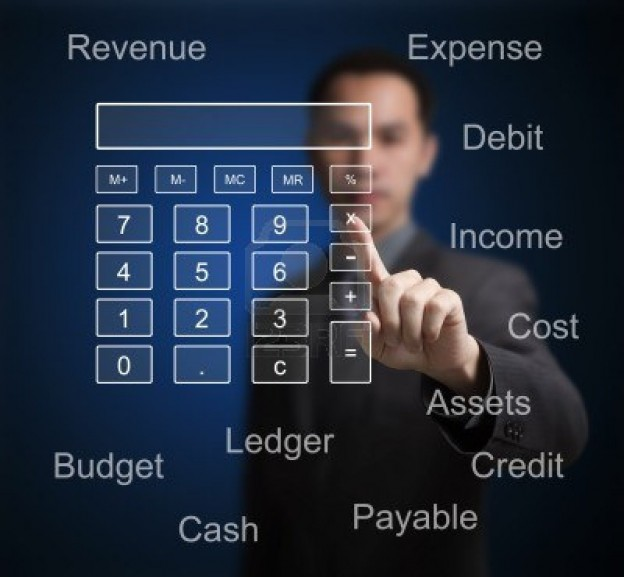 865014019945-business-man-pointing-at-calculator-and-accounting-concept-on-computer-touchscreen